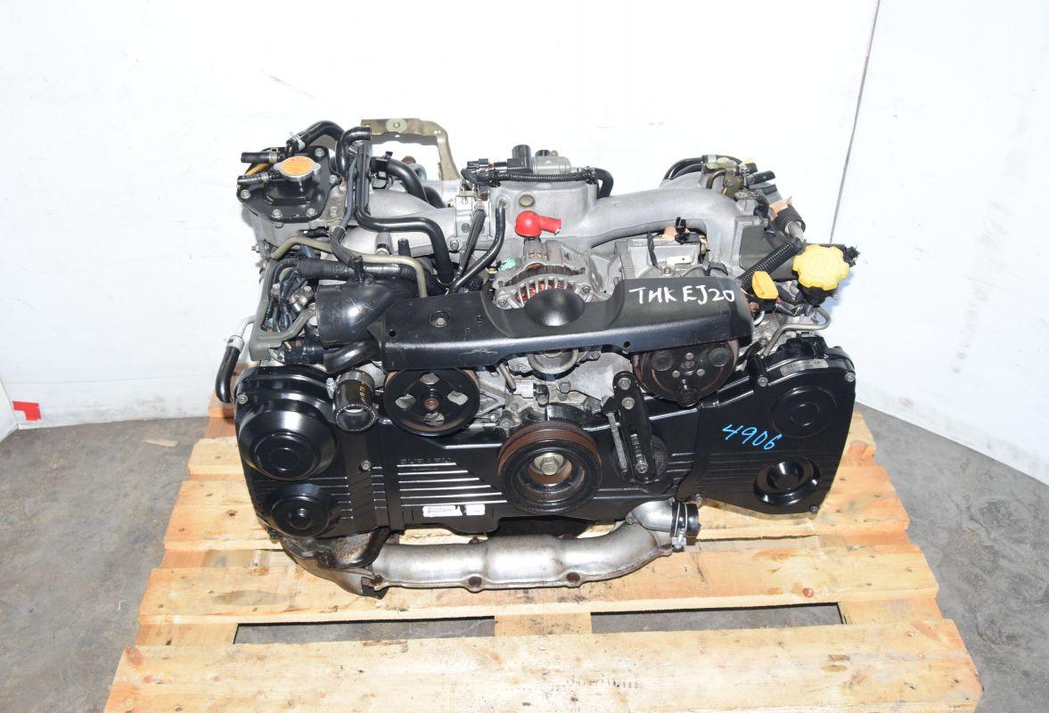 2002-2005 SUBARU WRX EJ205 ENGINE 2 0L TURBO AVCS TD04 TURBO - | JDM