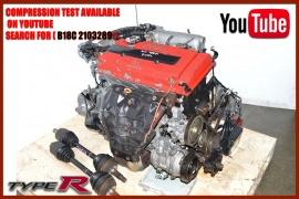 JDM B20, B16A, B16B, B18B & B18C Spec R, GSR, Type R ENGINES | JDM